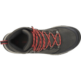 Columbia Cascade Pass WP Shoes Damen alpine tundra/sunset red